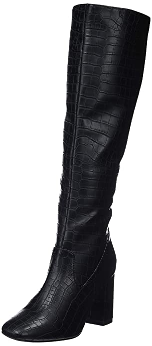 New Look Care, Bottes Hautes Femme  Amazon.fr  Chaussures et Sacs 5bdae2fe9f62