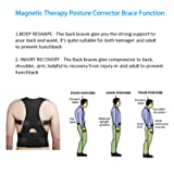 Magnetic Therapy Posture Support Back Brace -FDA