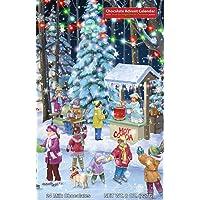 Woodland Skaters Chocolate Advent Calendar (Countdown to Christmas)