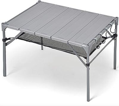 キャンプ テーブル 【S字フック4個+脚キャップ付き】 無限連結可能 耐荷重40kg 耐熱200度 GUAPO