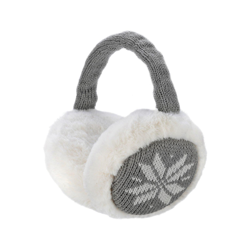 Sudawave Calzamaglia pieghevole unisex Caldo warmers dell'orecchio del knit Uomini Uomini Earmuffs di inverno di panno Paraorecchie