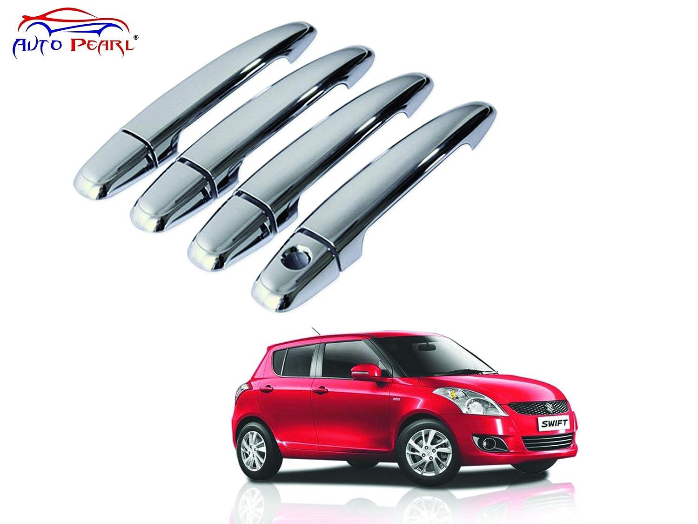 c2a4c03a2 Auto Pearl Chrome Door Handle Latch Cover for Maruti Suzuki Swift (Set of 4):  Amazon.in: Car & Motorbike