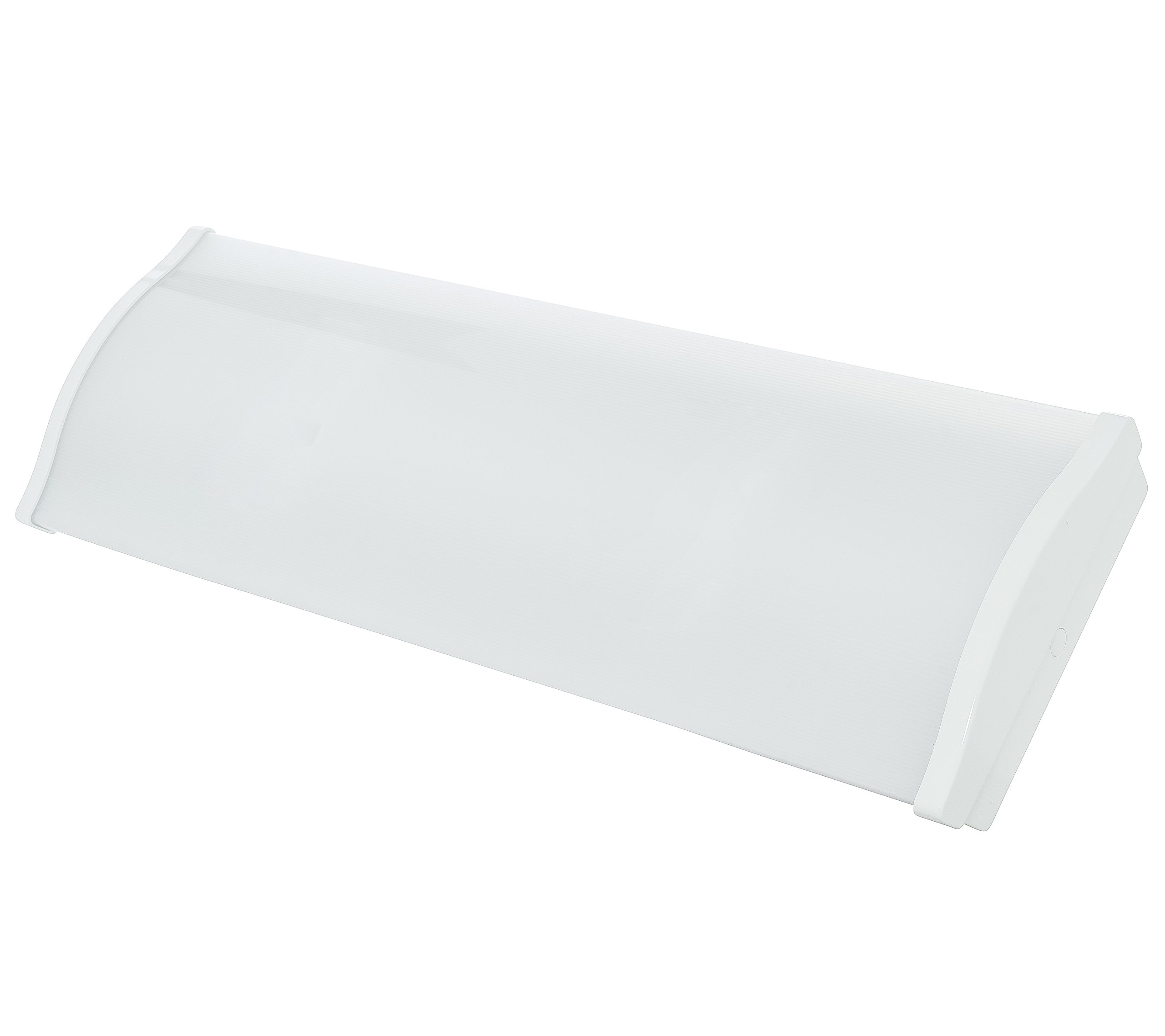 Westgate Lighting LED Wrap Around Light -Ceiling Mounted- UL Listed- LM79 & LM80 Tested- High Lumen- 100-277V AC (25W, 4000K White)