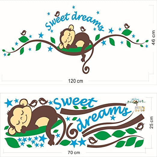 Amazon Com Sunsee Christmas Living Room Forest Bed Cartoon Monkey