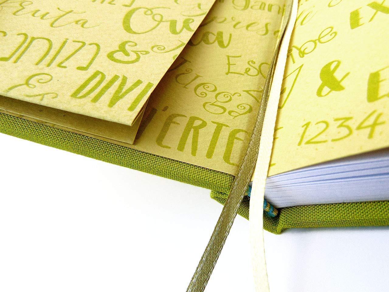 Cuaderno para Bullet journal con doble tapa. Libreta de diseño ...
