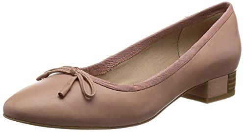 Clarks Eliberry Isla Zapatos de Cordones de Piel para