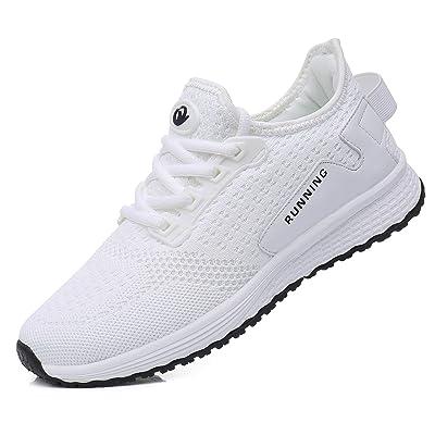 MAGPER Women's Memory Foam Slip on Walking Shoes Tennis Lightweight Athletic Running Sneakers US5.5-10 | Walking