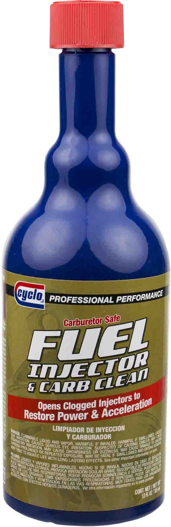 Niteo Cyclo C41 Fuel Injector & Carb Cleaner, 12 fl oz, Case of 12