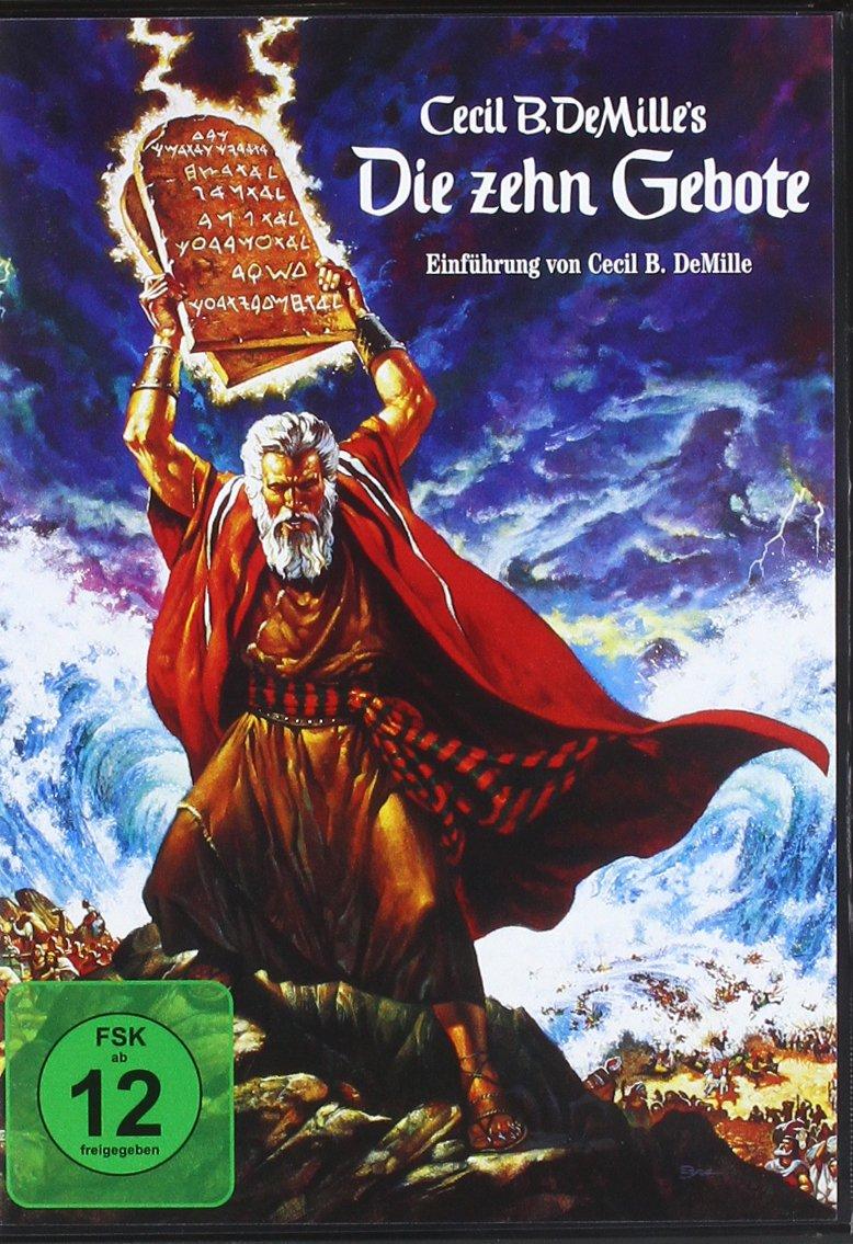 Die zehn Gebote [2 DVDs]: Amazon.de: Charlton Heston, Yul Brynner ...