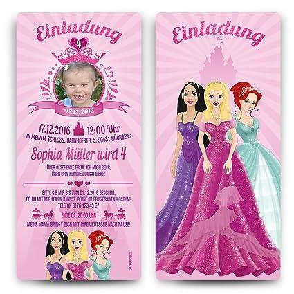 Invitaciones Cumpleaños infantiles - Princesa - cumpleaños ...