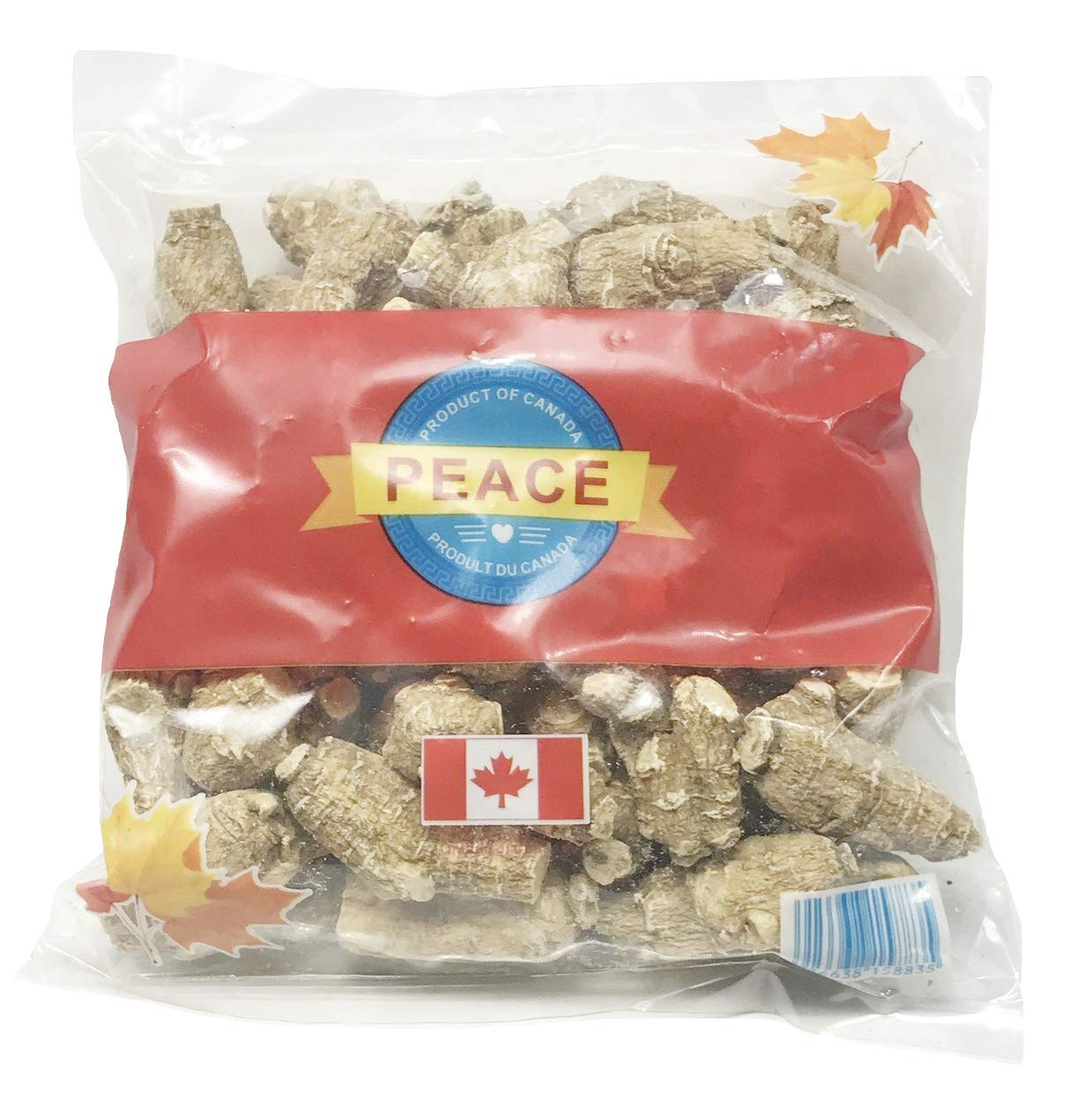 Peace Pavilion Several Years Premium Semi-Wild Ginseng_Bag Package 454g