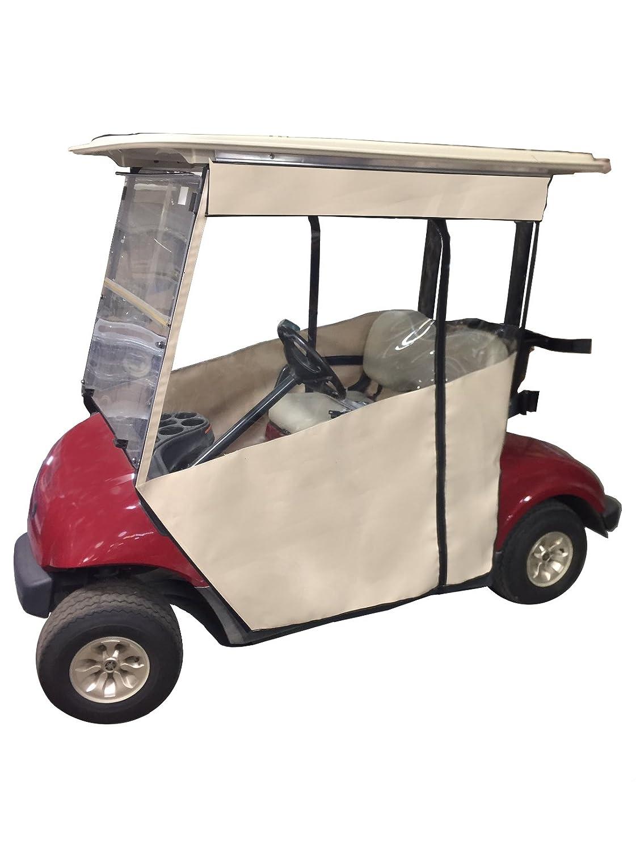 Track Style Golf Cart Enclosure In Sunbrella Canvas Yamaha G1a Wiring Diagram Slide On Cover Ezgo Txt Rxv Drive 2 G14 G19 Club Car Onward
