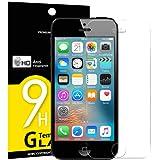 foto                       Vetro Temperato iPhone 5S / 5 / SE / 5C, Pellicola Protettiva NEW'C® in Vetro Temperato Screen Protector Film Ultra Resistente (0,33mm HD Alta trasparente) per iPhone 5S / 5 / SE / 5C