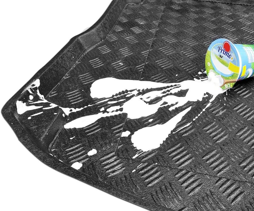 + nettoyant en Plastique Cadeau Couvre-Coffre en PVC Compatible avec Renault Grand Scenic III 7 Places 2009-2016