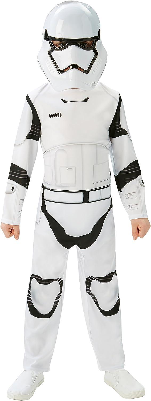 Star Wars - Disfraz de Storm Trooper para niños, talla M infantil 5-6 años (Rubies 620267-M)