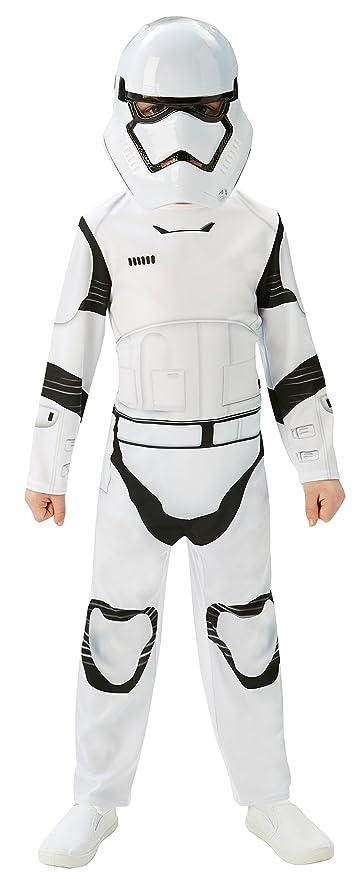 Amazon.com: Rubies Official Stormtrooper Boys Fancy Dress ...