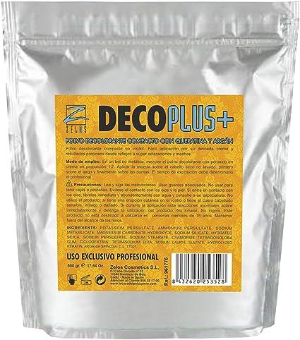 Polvo Decolorante Compacto con Queratina y Argán - 500 gr ...
