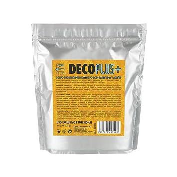 Polvo Decolorante Compacto con Queratina y Argán - 500 gr - Protege el Cabello - Resultados