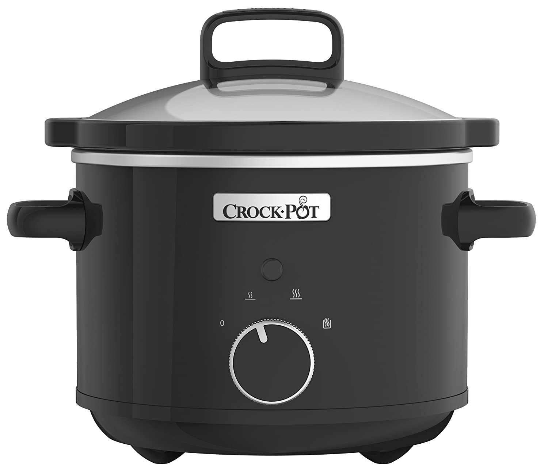 Crock-Pot CSC046 Fornello lento, 2,4 litri, nero [Classe energetica A] Jarden Consumer Solutions
