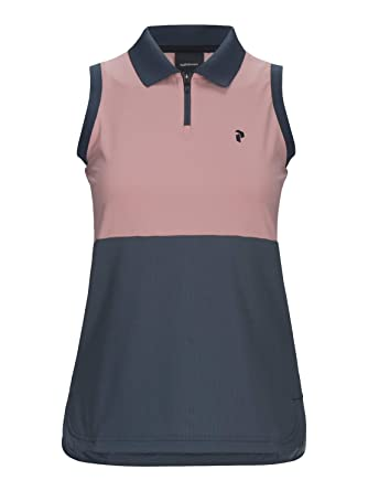 PEAK PERFORMANCE W Blocked - Blush cálido para golf, Unisex adulto ...