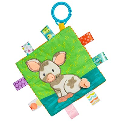 Mary Meyer Taggies Crinkle Me Baby Toy, Patches Pig : Baby