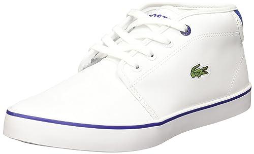 Lacoste - Zapatillas de Material Sintético para niño Blanco Blanco: Lacoste: Amazon.es: Zapatos y complementos