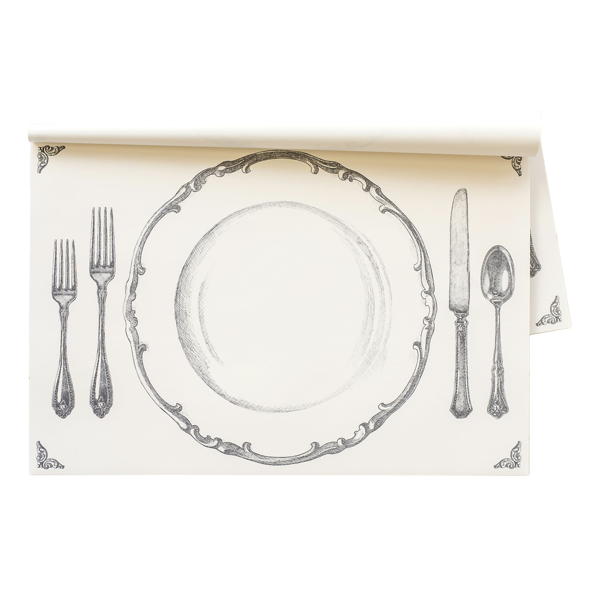 Perfect Setting Paper Placemat 30 Sheets American Made