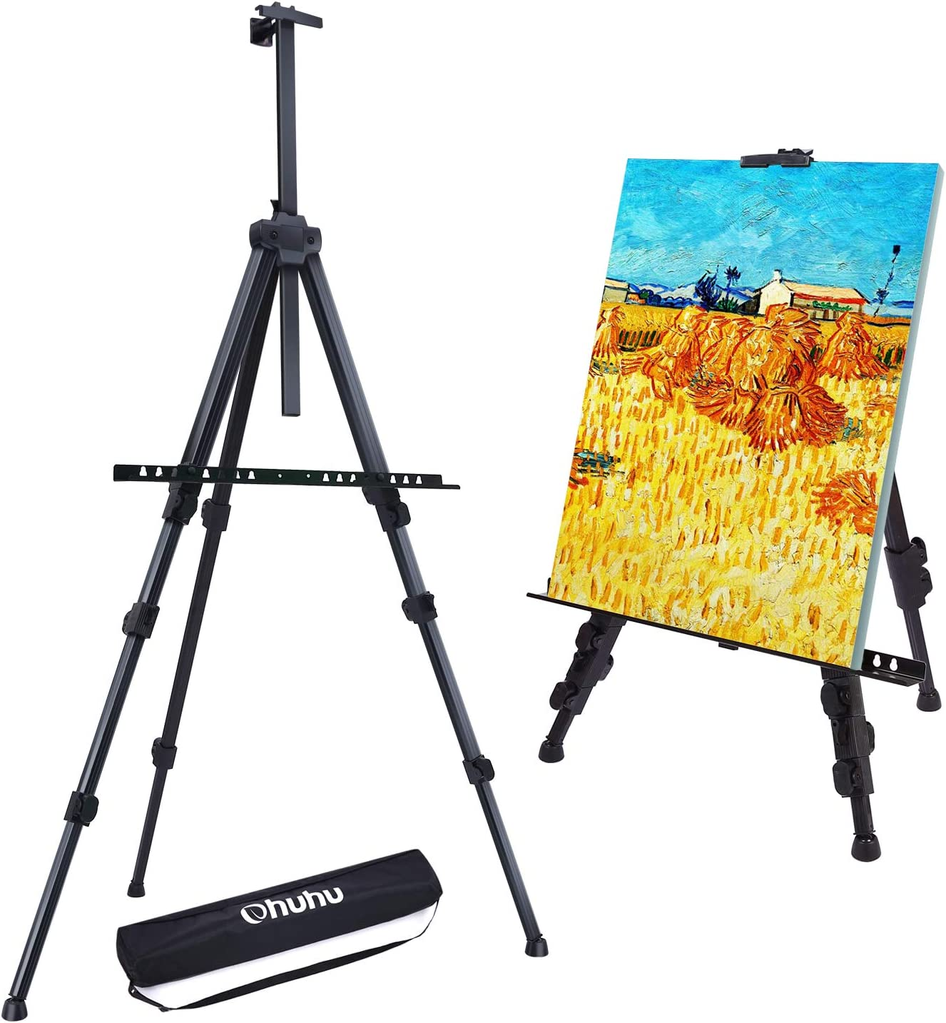 Display Easel Stand Ohuhu Height 25 72 Aluminum Metal Tripod Field Art Easels For Table Top Floor Adjustable For Poster Displaying Drawing And Kids Painting Easel Gift For Mother S Day Amazon Ca Home Kitchen