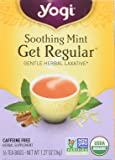Yogi Tea, Soothing Mint Get Regular, 16 Count (Pack of 6), Packaging May Vary