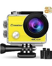 Crosstour Action cam CT8000 (Giallo)