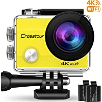 Crosstour Action cam CT8000 (Giallo)