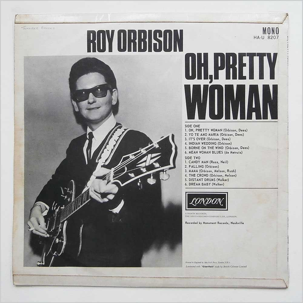 Roy orbison pretty woman скачать бесплатно mp3