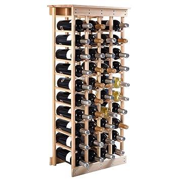 étagère à Vin Range Bouteille Casier à Vin Porte Bouteille 40