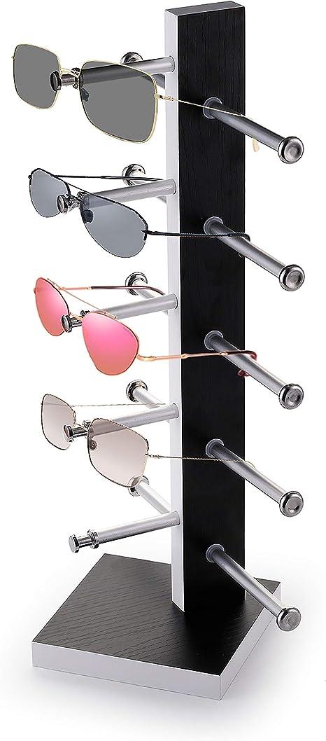 Stores Wood Sunglasses Eyeglass Rack Glasses Display Stand Holder Organizer
