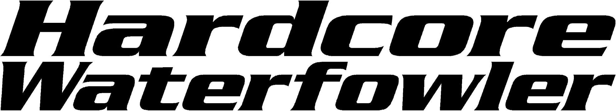 Hardcore Waterfowler Decal Waterfowl Hunters Decal \u2013 waterfowl hunting decals for trucks 2405
