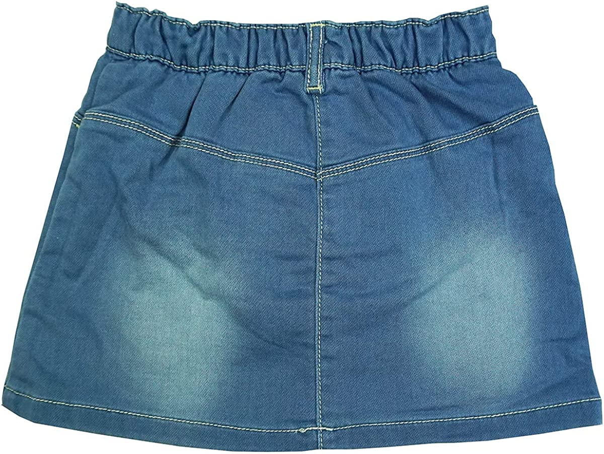 GetWivvit B/éb/é Filles Aspect Jean Papillon Jupe avec Bloomer Pantalons Tailles /à partir de Nouveau-N/é/à 24 Mois