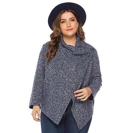 Baofull Herrenbekleidung Casual Sudaderas con Capucha para Mujer De Color Sólido Otoño Invierno De Moda Estampado