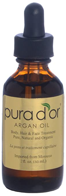 Pura d'or Pure & Organic Argan Oil (2 fl. oz.)