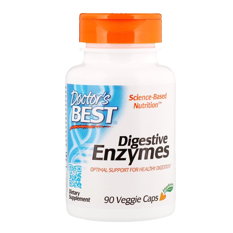 Doctors Best Digestive Enzymes (90 Vegetarian Capsules): Amazon.es: Salud y cuidado personal