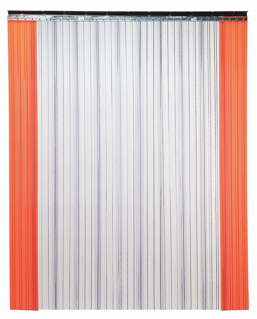 Tmi Industrial PVC Strip Door 7 ft 3 L