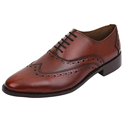Lethato Wingtip Oxford Goodyear Welted Formal Handmade Leather Dress Shoes | Oxfords