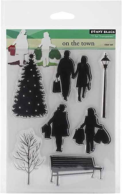Natures Friends Penny Black Decorative Rubber Stamps