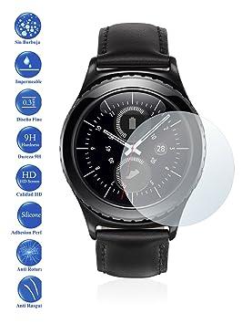 Todotumovil Protector de Pantalla Cristal Templado Vidrio 9H para Samsung Galaxy Gear S2 / 2