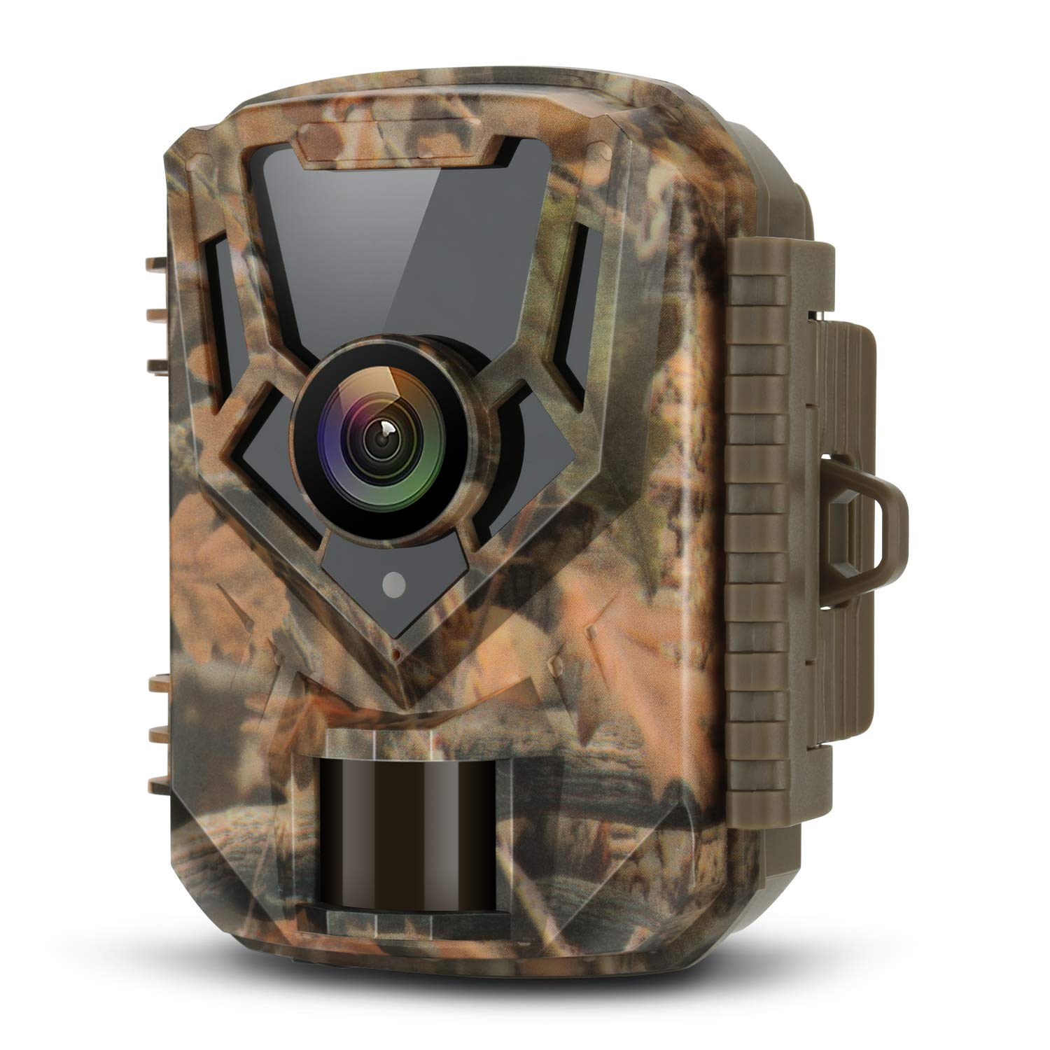 LETSCOM Trail Game Camera 16MP 1080P, 0.4s Trigger Speed Scouting Hunting Cams with Night Vision Motion Activated for Outdoor Wildlife Monitoring and Home Surveillance Yellow by LETSCOM