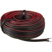 Tek/İş 520187 2 X 0.75 Hoparlör Kablosu 10 M Çiplak, Siyah