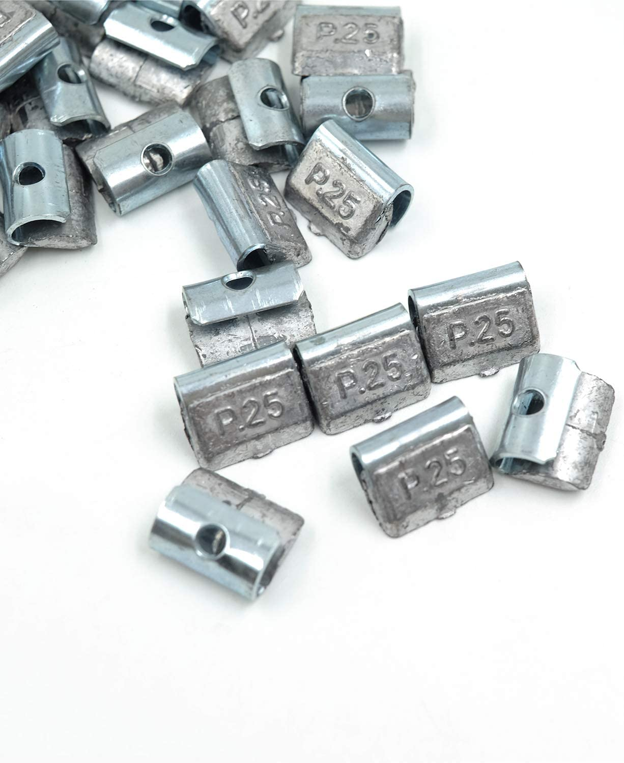 25Pcs//Box P200 Lead Clip on Wheel Weights CKAuto 2.0oz Uncoated
