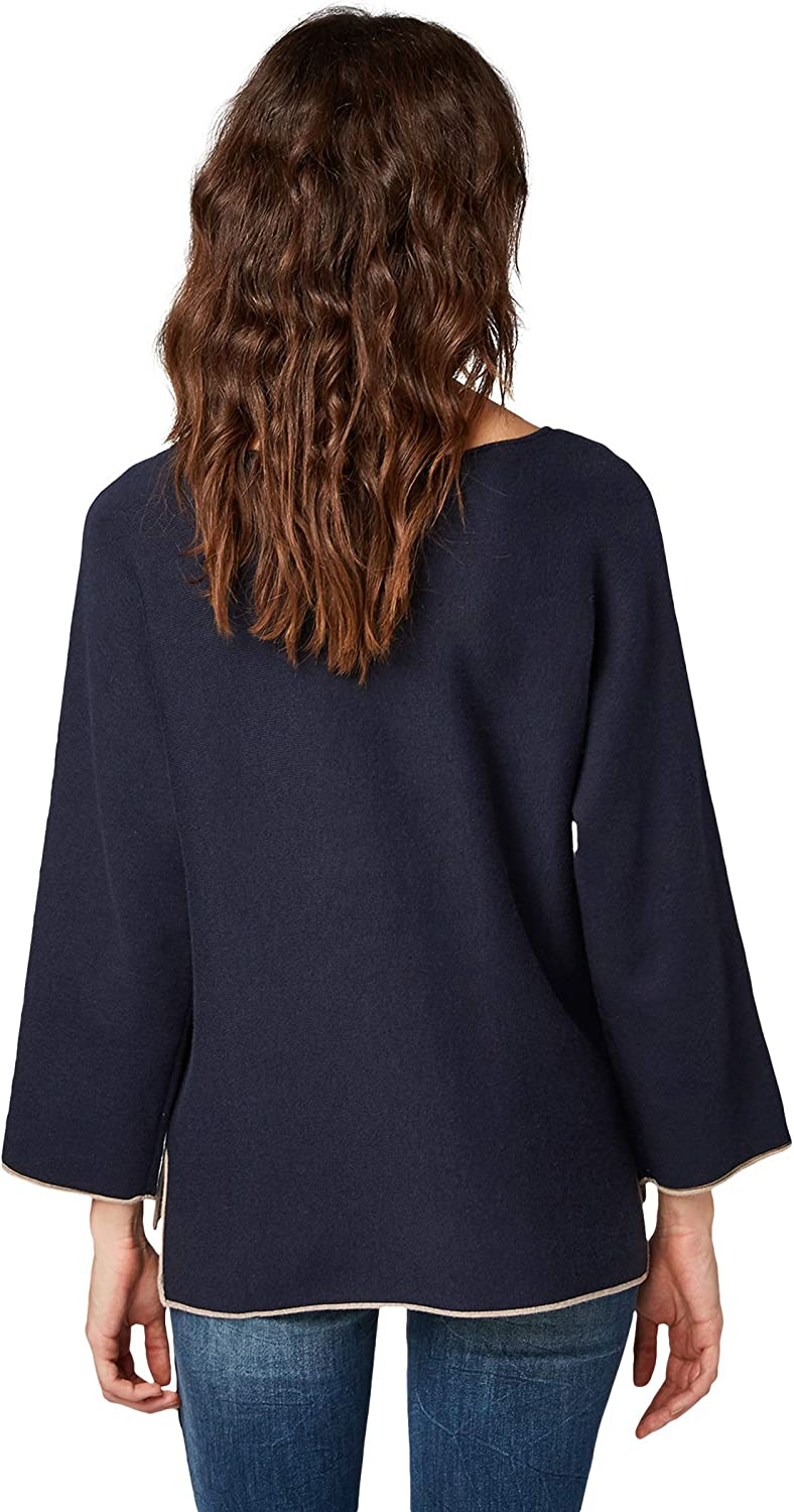 Tom Tailor Double Face Sweater Pullover Donna