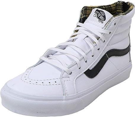 Vans Sk8 hi Slim Zip, Sneakers Hautes Mixte Adulte