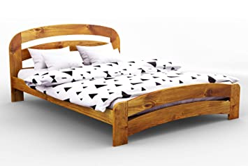 Nodax Wooden Pine Super King Size Bed Frame F10 Oak Uk Super King