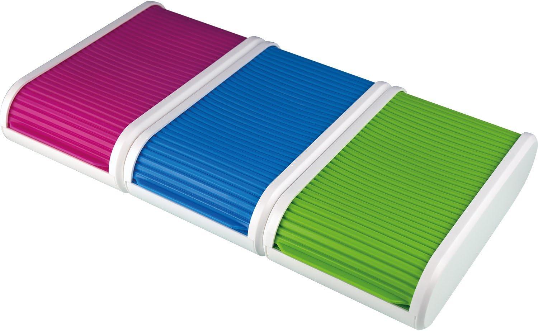 Helit H6218050 colori per biglietti da visita per 300 carte verde traslucido